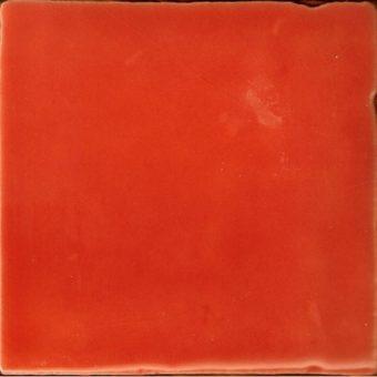 Azulejos Naranja T-5 | retrotegelwinkel.nl